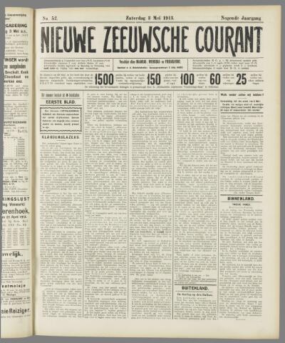 Nieuwe Zeeuwsche Courant 1913-05-03