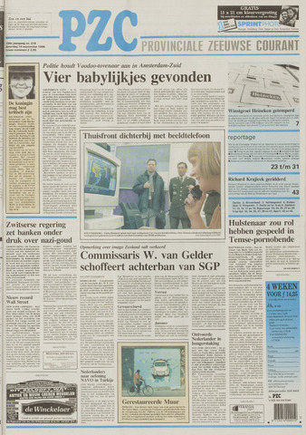 Provinciale Zeeuwse Courant 1996-09-14