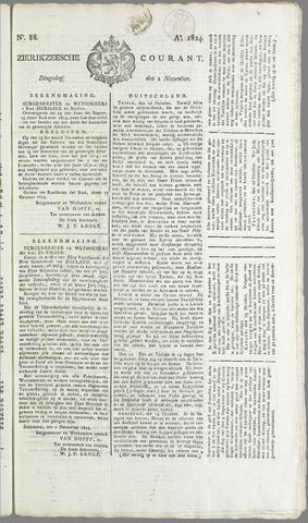 Zierikzeesche Courant 1824-11-01