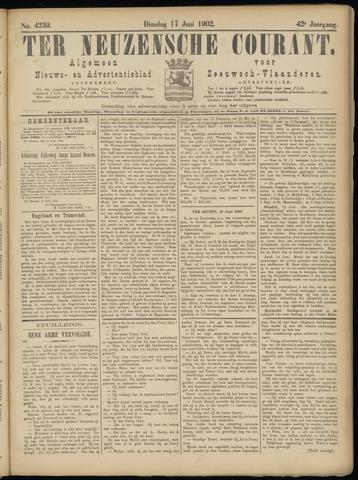 Ter Neuzensche Courant. Algemeen Nieuws- en Advertentieblad voor Zeeuwsch-Vlaanderen / Neuzensche Courant ... (idem) / (Algemeen) nieuws en advertentieblad voor Zeeuwsch-Vlaanderen 1902-06-17