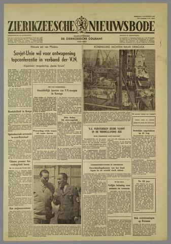 Zierikzeesche Nieuwsbode 1960-08-02