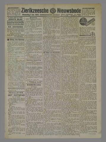 Zierikzeesche Nieuwsbode 1934