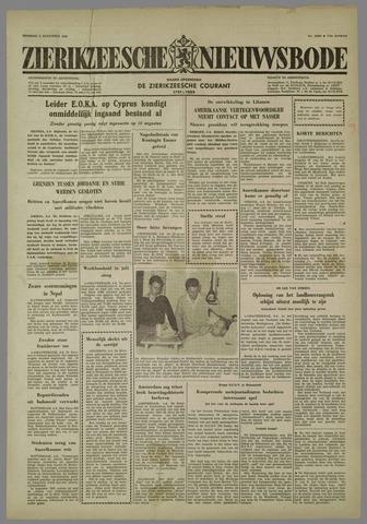 Zierikzeesche Nieuwsbode 1958-08-05