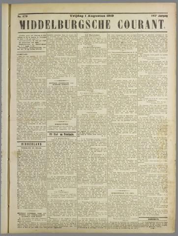Middelburgsche Courant 1919-08-01