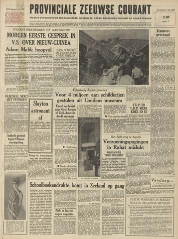 Provinciale Zeeuwse Courant 1962-07-12