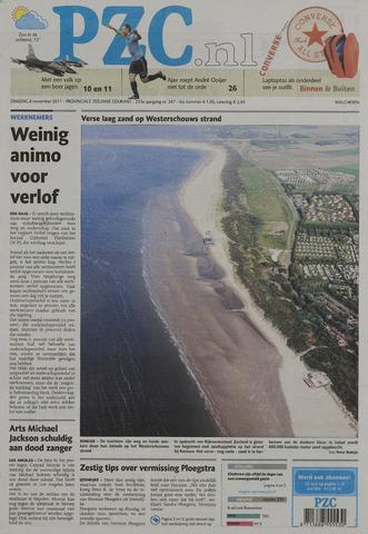 Provinciale Zeeuwse Courant 2011-11-08