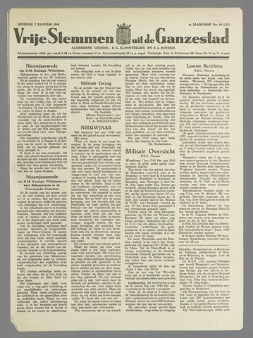 Vrije Stemmen uit de Ganzestad 1945