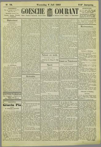 Goessche Courant 1927-07-06