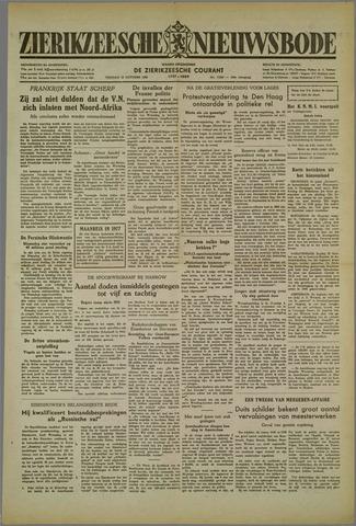 Zierikzeesche Nieuwsbode 1952-10-10