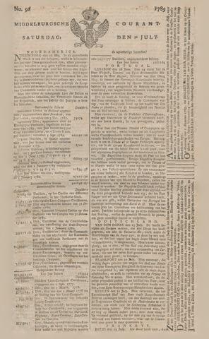 Middelburgsche Courant 1785-07-30