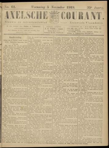 Axelsche Courant 1919-11-05