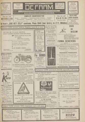 de Faam en de Faam/de Vlissinger 1962-12-28