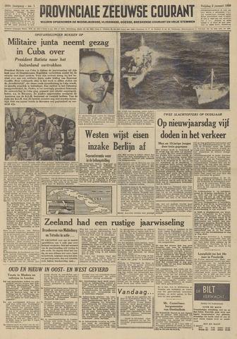 Provinciale Zeeuwse Courant 1959-01-02