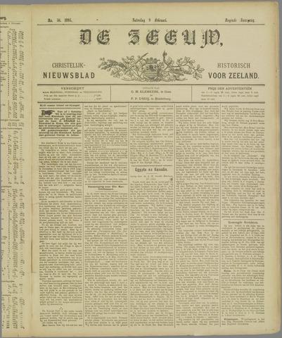 De Zeeuw. Christelijk-historisch nieuwsblad voor Zeeland 1895-02-09