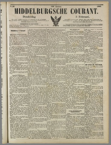 Middelburgsche Courant 1903-02-05