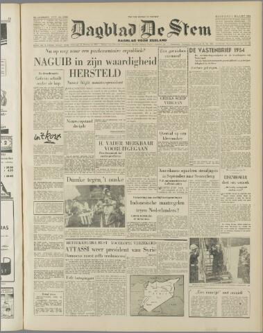 de Stem 1954-03-01