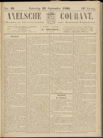 Axelsche Courant 1900-09-22
