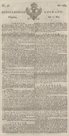 Middelburgsche Courant 1764-05-15