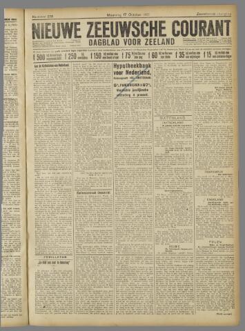 Nieuwe Zeeuwsche Courant 1921-10-17