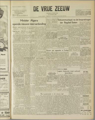 de Vrije Zeeuw 1958-07-30