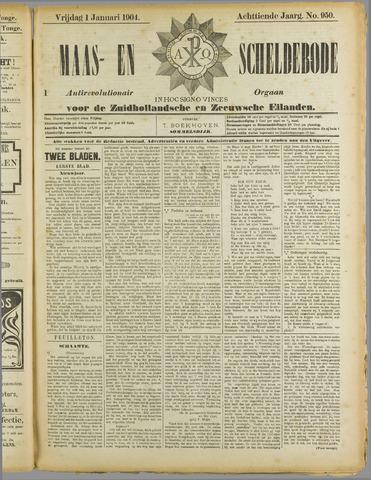 Maas- en Scheldebode 1904