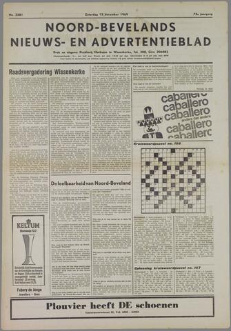 Noord-Bevelands Nieuws- en advertentieblad 1969-12-13