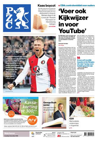 Provinciale Zeeuwse Courant 2018-12-03