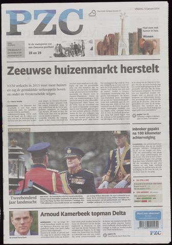 Provinciale Zeeuwse Courant 2014-01-10