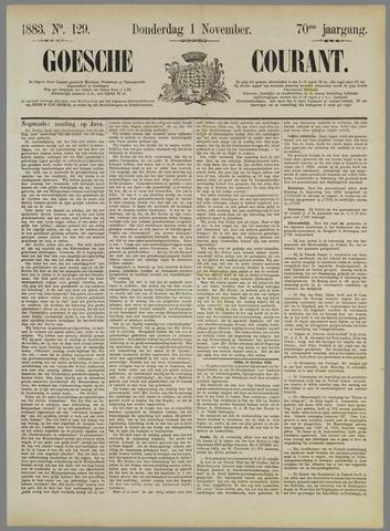Goessche Courant 1883-11-01