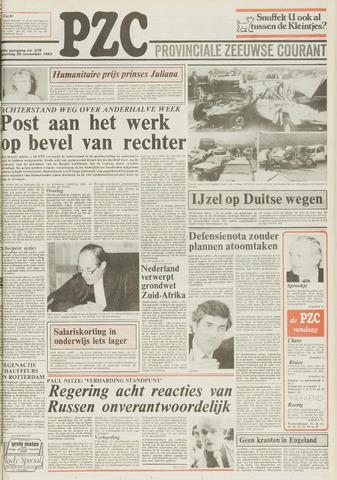 Provinciale Zeeuwse Courant 1983-11-26