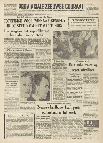 Provinciale Zeeuwse Courant 1960-11-10