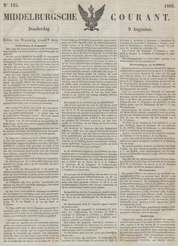 Middelburgsche Courant 1866-08-09