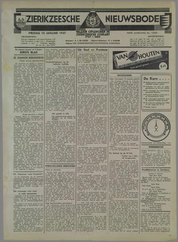 Zierikzeesche Nieuwsbode 1937-01-15