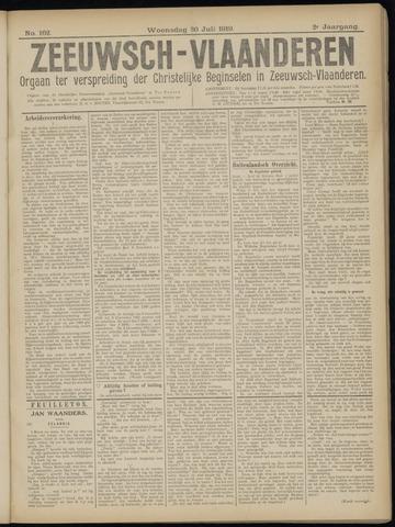 Luctor et Emergo. Antirevolutionair nieuws- en advertentieblad voor Zeeland / Zeeuwsch-Vlaanderen. Orgaan ter verspreiding van de christelijke beginselen in Zeeuwsch-Vlaanderen 1919-07-30