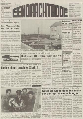 Eendrachtbode (1945-heden)/Mededeelingenblad voor het eiland Tholen (1944/45) 1989-02-02