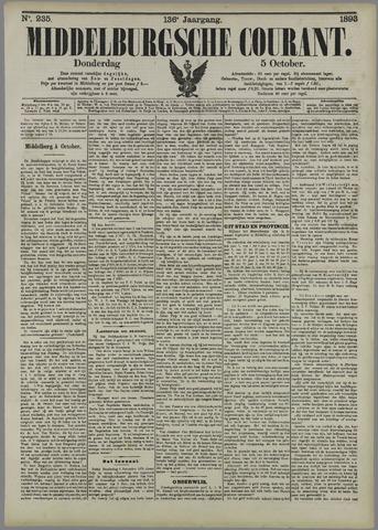 Middelburgsche Courant 1893-10-05