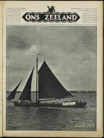 Ons Zeeland / Zeeuwsche editie 1934-09-14