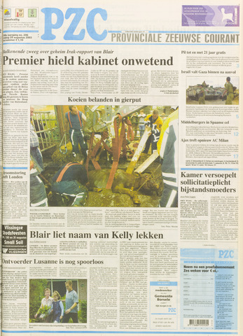 Provinciale Zeeuwse Courant 2003-08-29