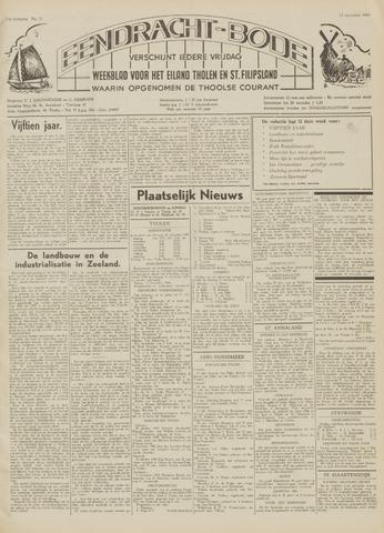 Eendrachtbode (1945-heden)/Mededeelingenblad voor het eiland Tholen (1944/45) 1959-11-13