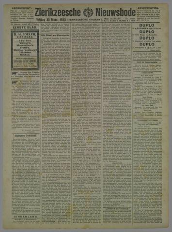 Zierikzeesche Nieuwsbode 1923-03-30
