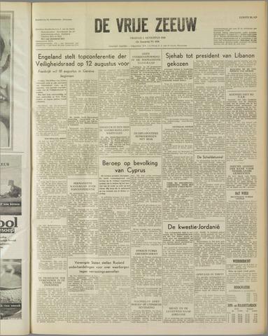 de Vrije Zeeuw 1958-08-01