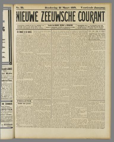 Nieuwe Zeeuwsche Courant 1918-03-21