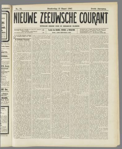 Nieuwe Zeeuwsche Courant 1907-03-21