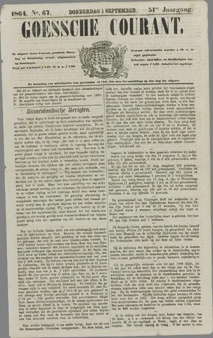 Goessche Courant 1864-09-01