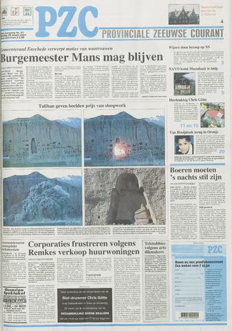 Provinciale Zeeuwse Courant 2001-03-20
