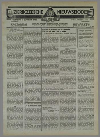 Zierikzeesche Nieuwsbode 1942-09-02