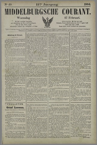 Middelburgsche Courant 1884-02-27