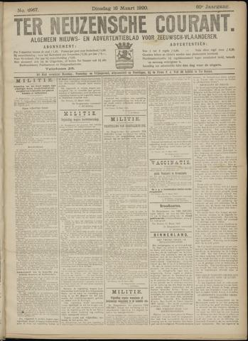 Ter Neuzensche Courant. Algemeen Nieuws- en Advertentieblad voor Zeeuwsch-Vlaanderen / Neuzensche Courant ... (idem) / (Algemeen) nieuws en advertentieblad voor Zeeuwsch-Vlaanderen 1920-03-16
