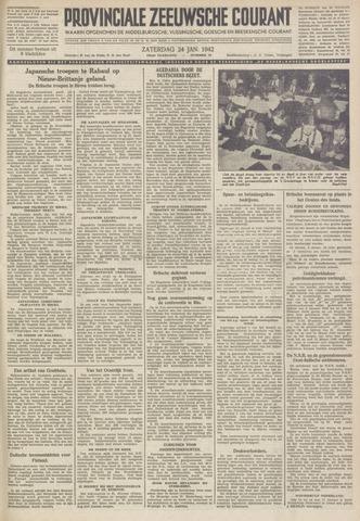 Provinciale Zeeuwse Courant 1942-01-24