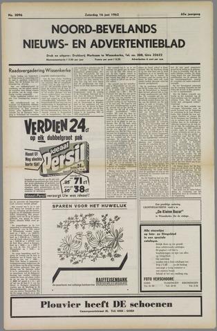 Noord-Bevelands Nieuws- en advertentieblad 1962-06-16